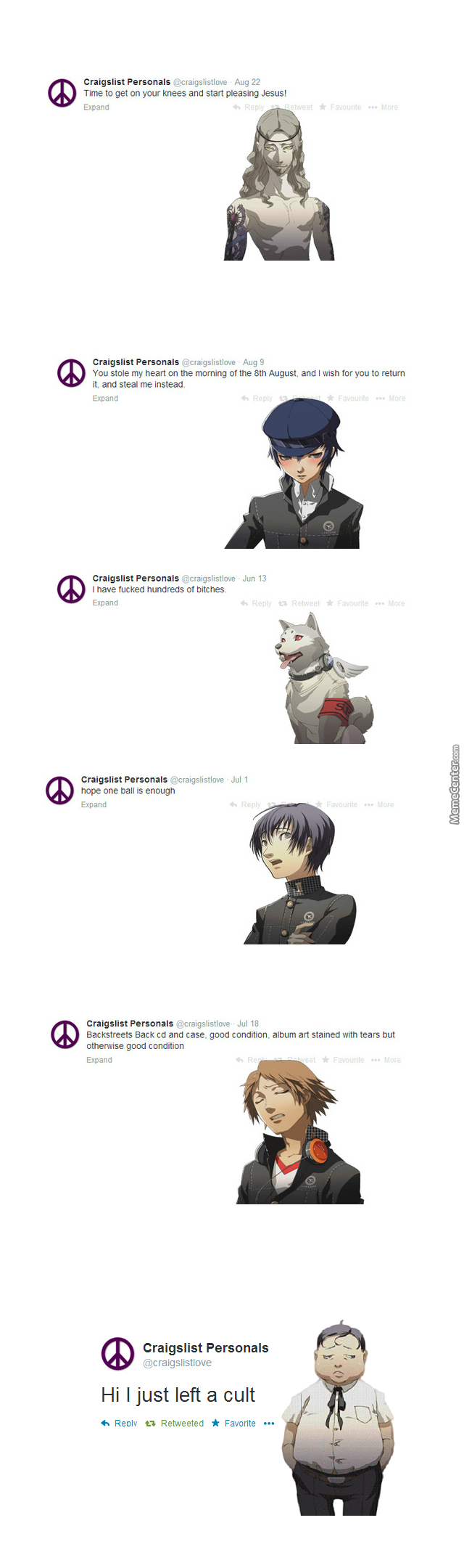 if persona characters used craigslist pt 3_o_3115763 if persona characters used craigslist (pt 3) by zaiyda meme center