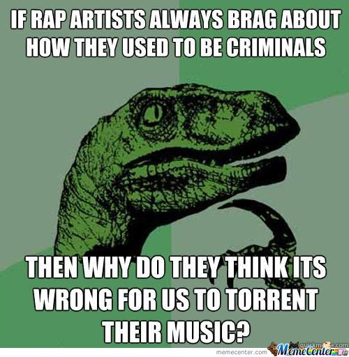 If Rap Artists Always Brag About How They Used To Be Crimminals