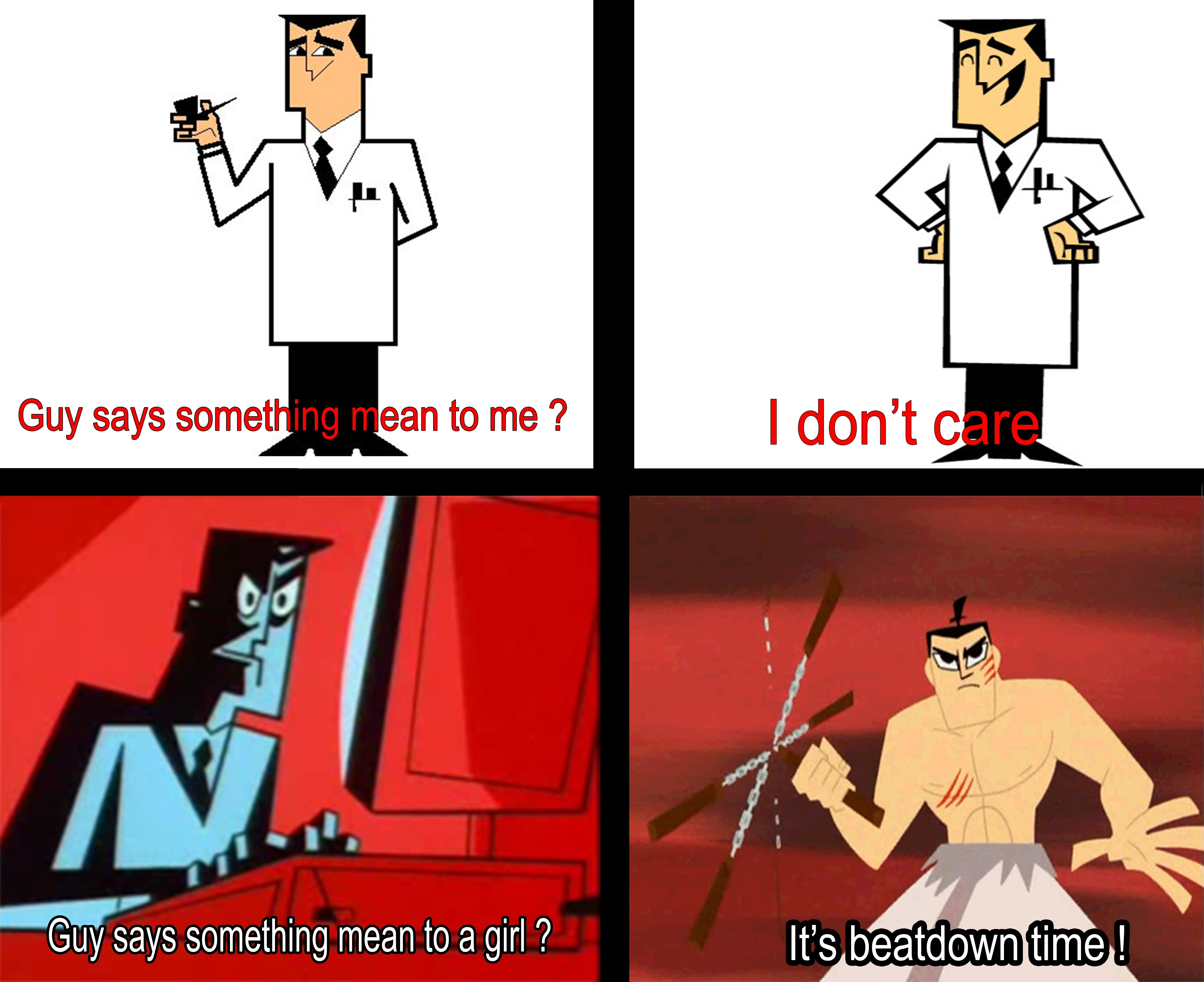 if someone is dissing your fly girl professor utonium will help by