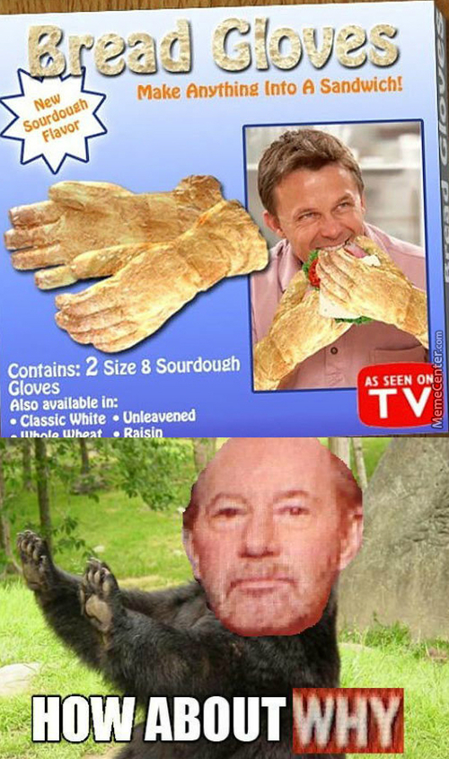 If They're Gloves That Means You Eat Your Fingers?