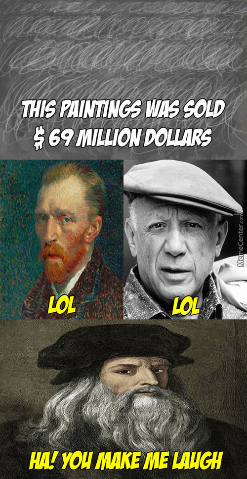 If They Know This Paintings Was Sold $69 Million Dollars