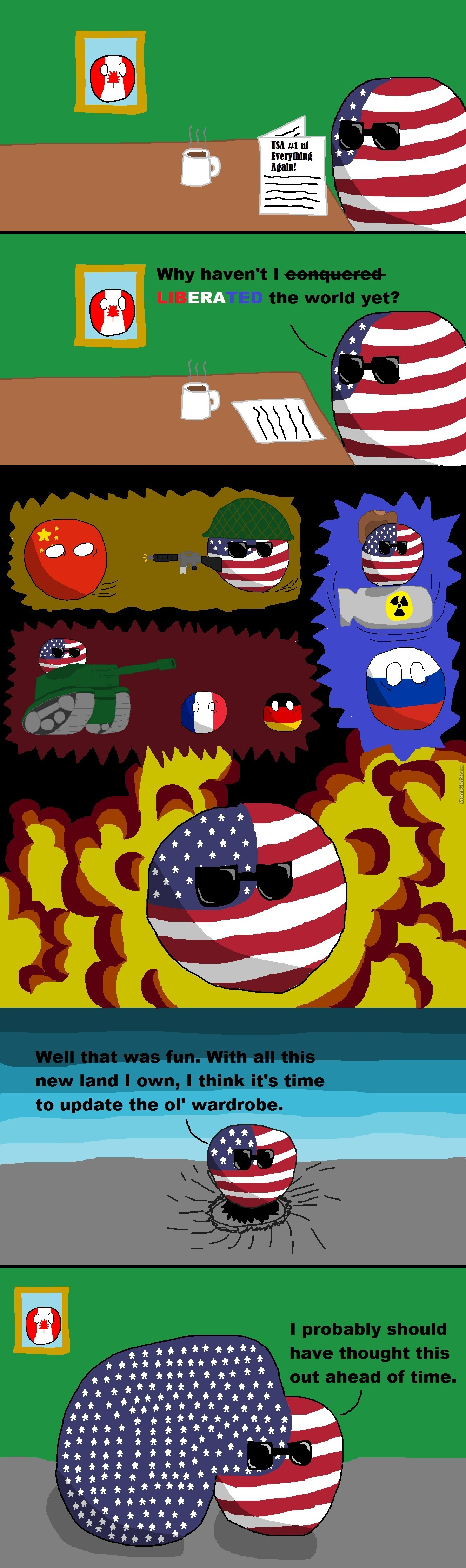 If Usa Conqured The World