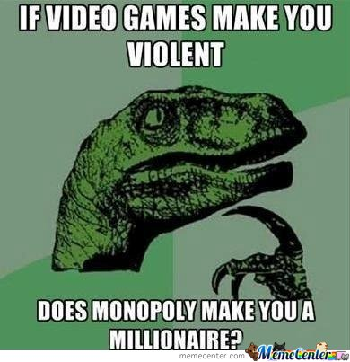 If Video Games Make You Violent