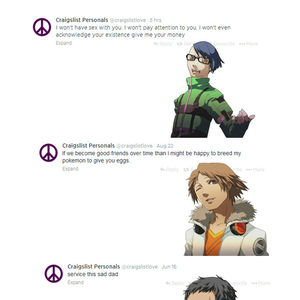 if videogame characters used craigslist persona series pt 2_fb_3077403 if videogame characters used craigslist persona series (pt 2) by
