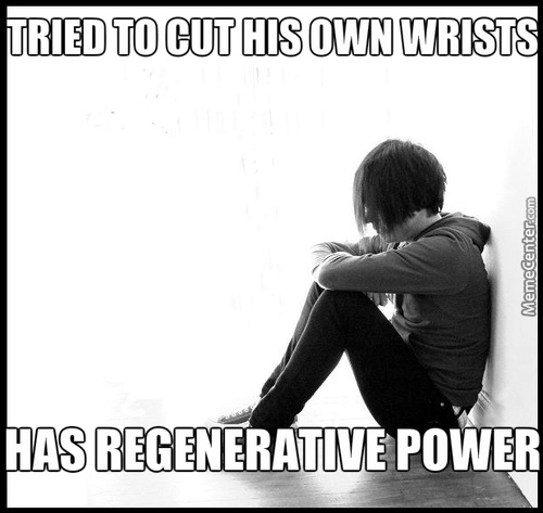 If Wolverine Was An Emo