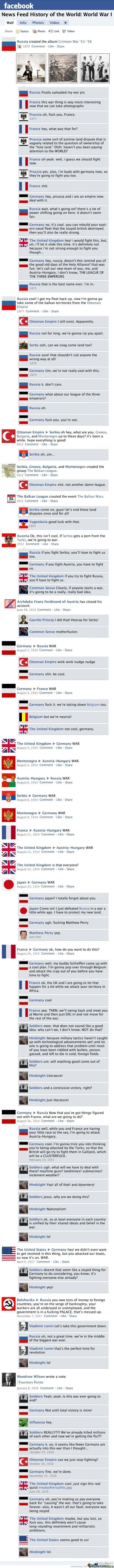 If Wwi Had Facebook
