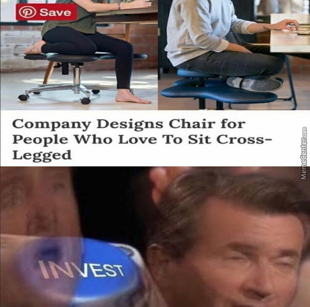 If You'Re Reading This, You'Re Probably Sitting Cross-Legged.
