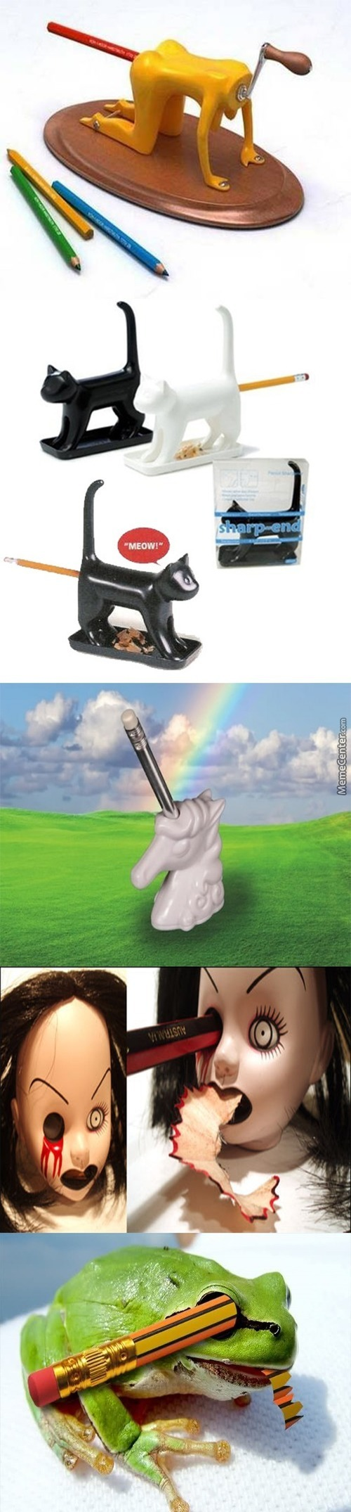 If You Don't Want People To Use Your Sharpener Buy One Of These