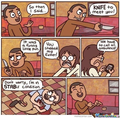 """If You Get This Joke You're Pretty """"sharp"""""""