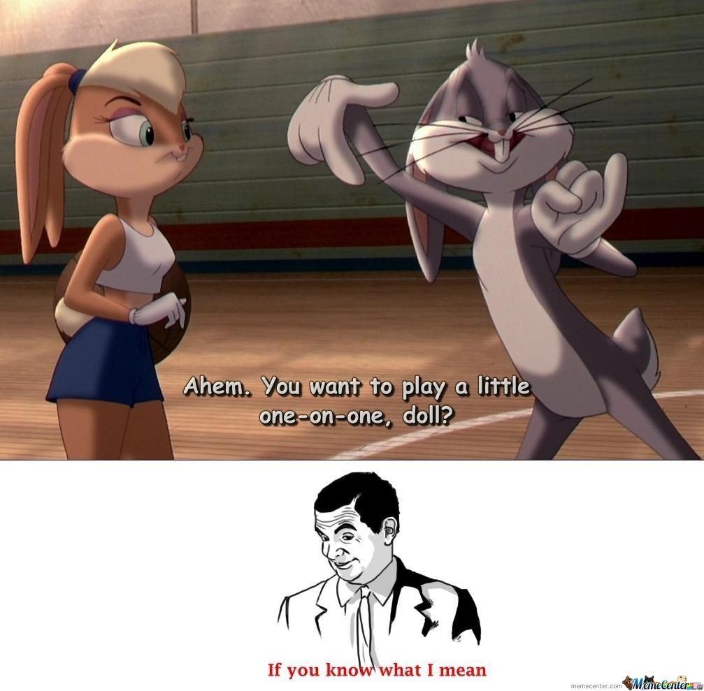 If You Know What I Mean (Looney Tune)