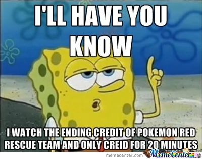 If You Never Play Pokemon Red Rescue Team You Won't Understand This