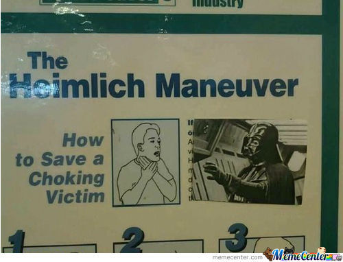 If You Only Knew The Power Of The Heimlich