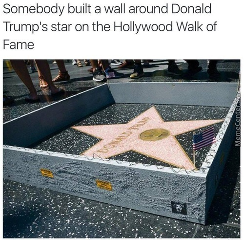 If You Step On It... Does It Mean You've Stumped The Trump?