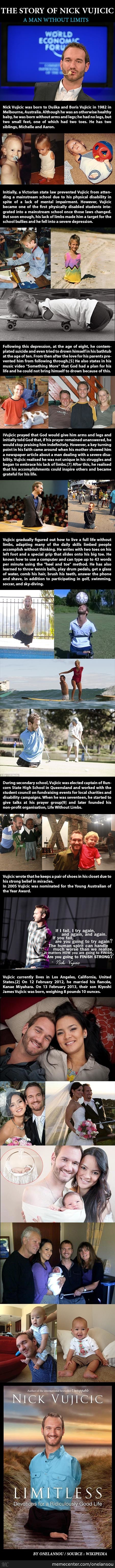 The Story Of Nick Vujicic