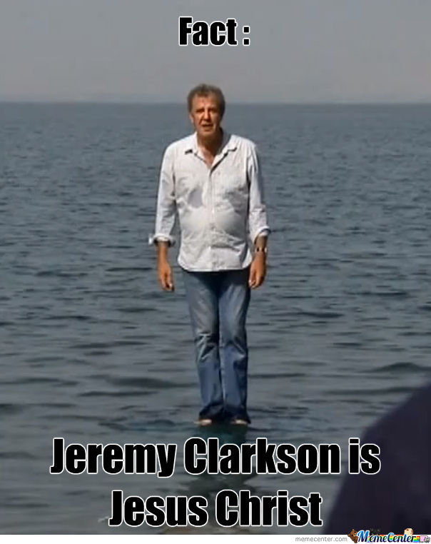 If You Watch Top Gear, You'll Know Who He Is.