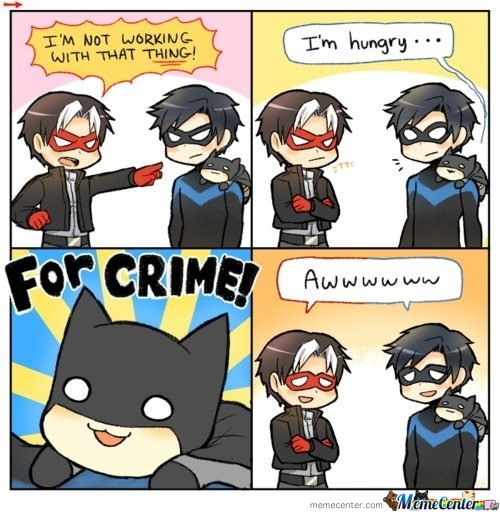 I'm Hungry For Crime!