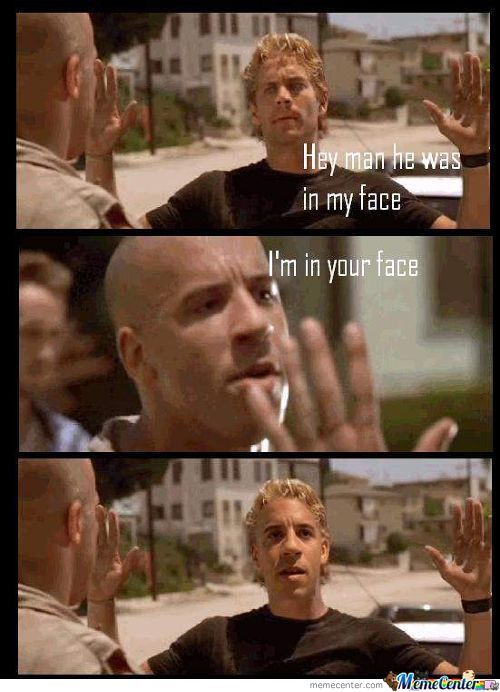 I'm In Your Face