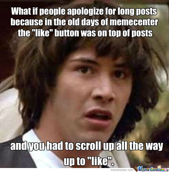 I'm Pretty Sure This Is The Reason For All The Apologies
