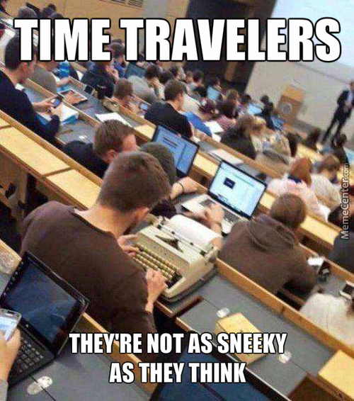 In 100 Years People Will Look Back And Think Hipsters Were Time Traveler From The Past