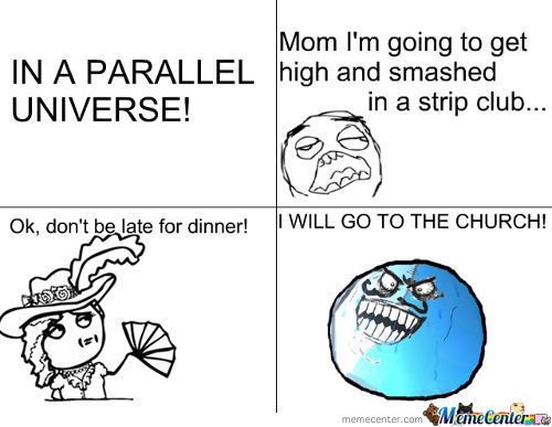 In A Parallel Universe!