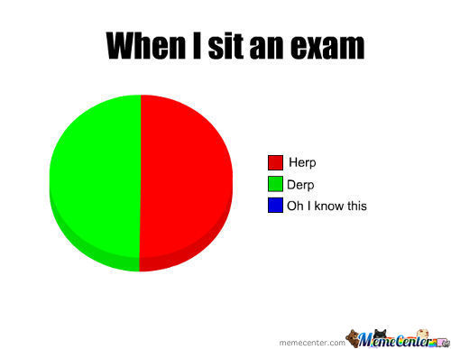 In An Exam