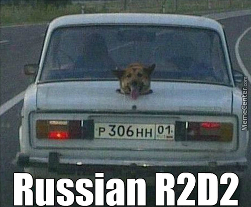 In Матушка Россия Car Drives You