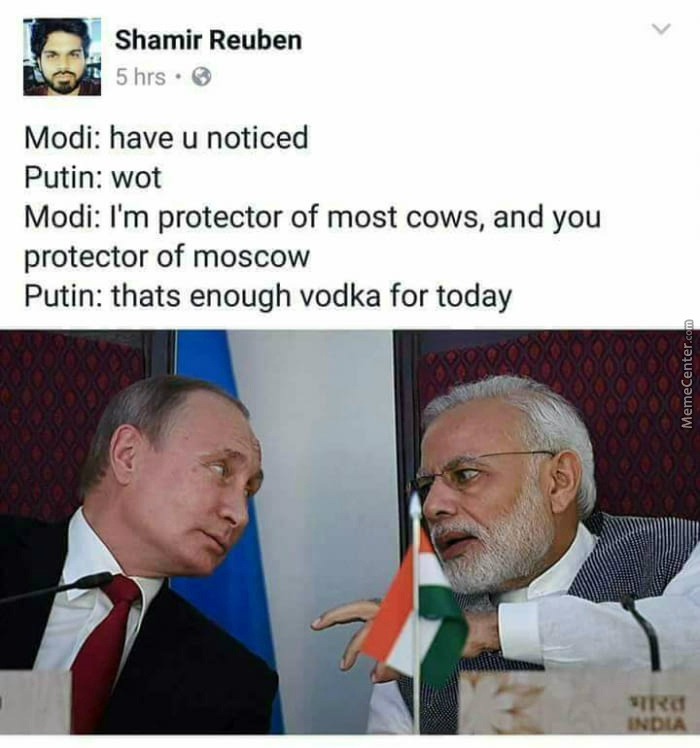 In Mother Russia, Vodka Drinks You