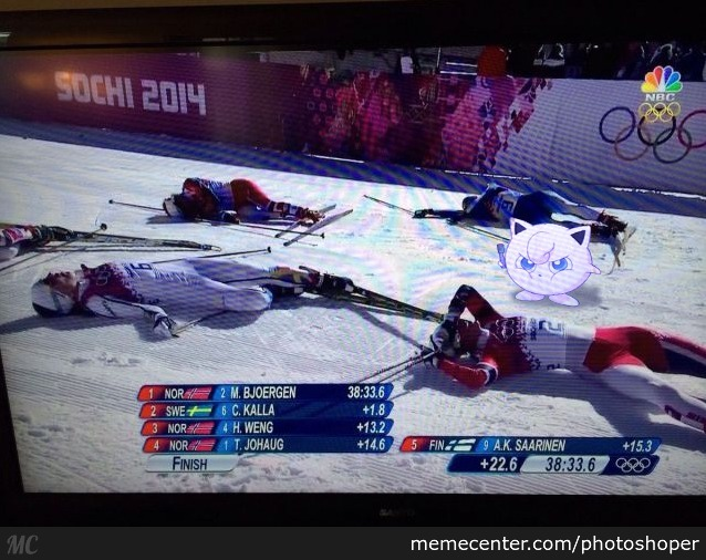 In Other News Jigglypuff Strikes The Olympic Games