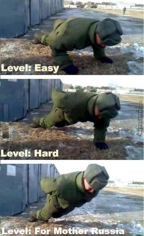In Russia Push-Ups Do You