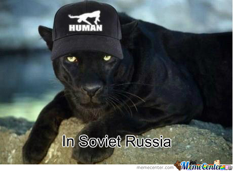 In Soviet Russia Puma Wears You