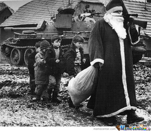 In Soviet Russia, Santa Takes Presents From You!