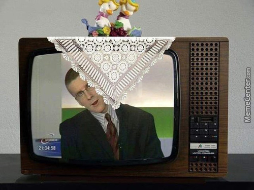 In Soviet Russia The Television Watches You