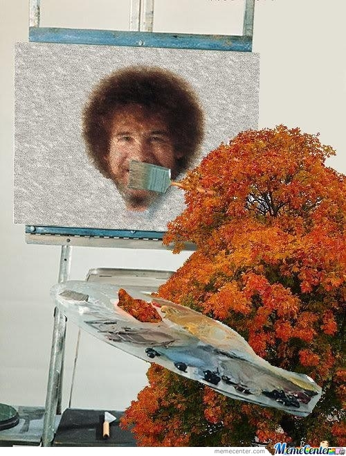 In Soviet Russia Tree Paints You!