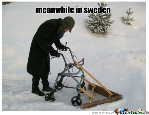 In Sweden Only
