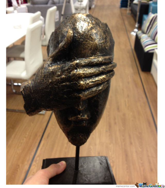 In Sweden You Can Buy A Facepalm Statue
