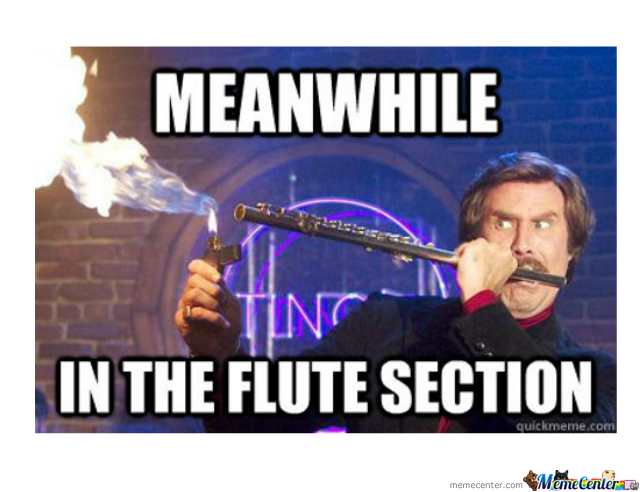 In The Flute Section...