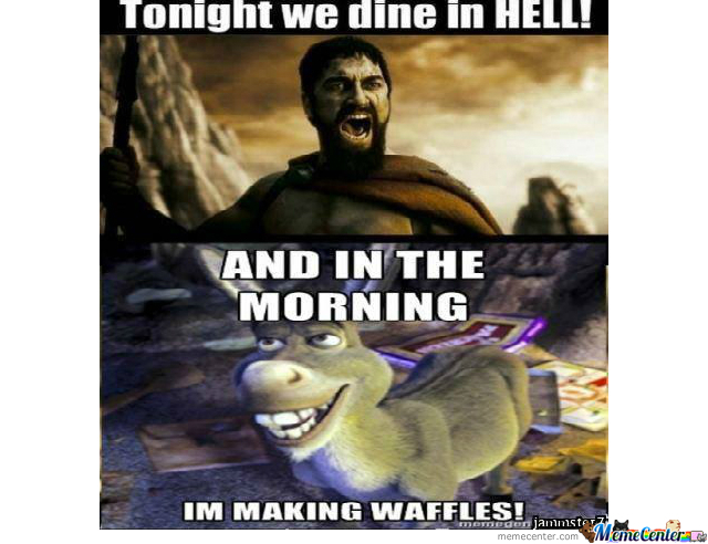 In The Morning I'm Making Waffles