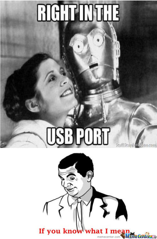 In The Usb Port