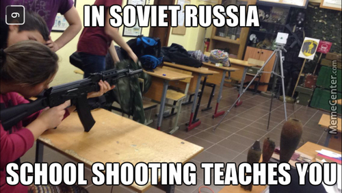 In Ukraine You Are Taught How To Assemble/disassemble And Fire A Kalashnikov In School