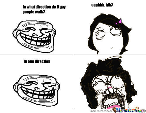 In What Direction Do 5 Gay Ppl Walk?