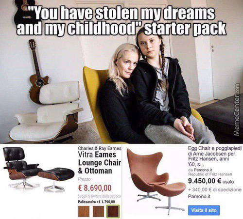 """In Your """"stolen Childhood"""" Was Also Such Expensive Furniture?"""