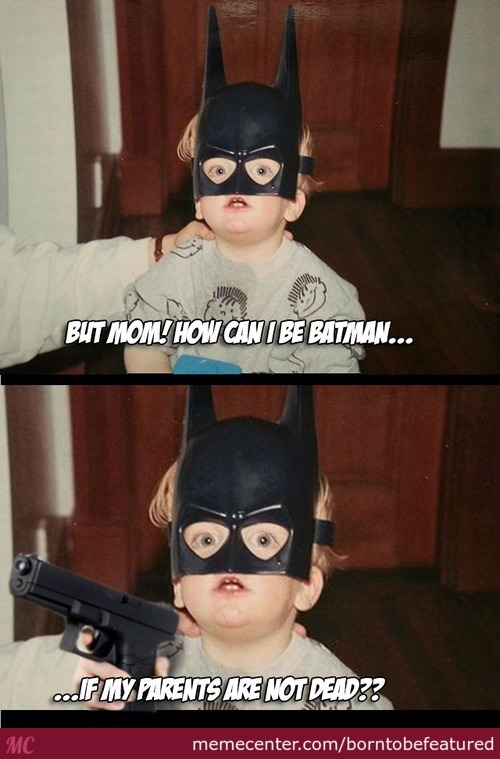 Inarguable Batkid.