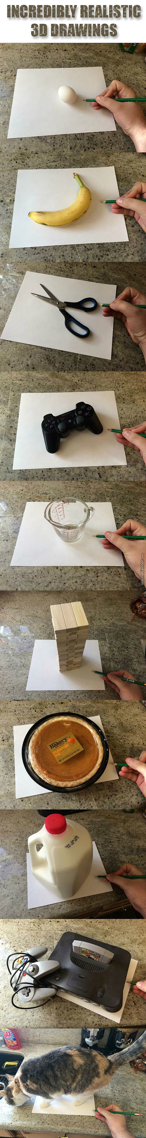 Incredibly Precise Drawings