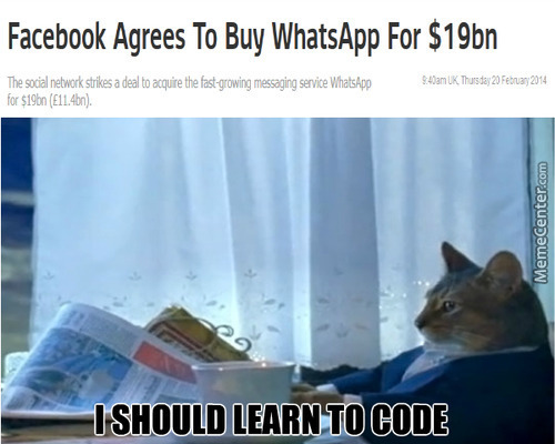 Initial Reaction To Whatsapp Buy Out