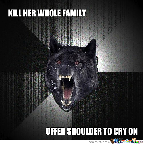 Insanity Wolf's Relationship Advice