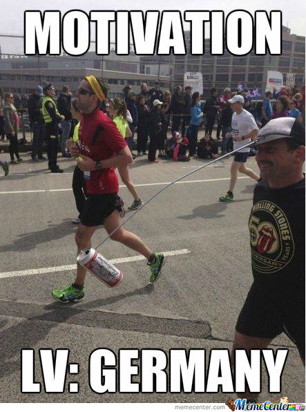 Marathon Motivation Level: Germany