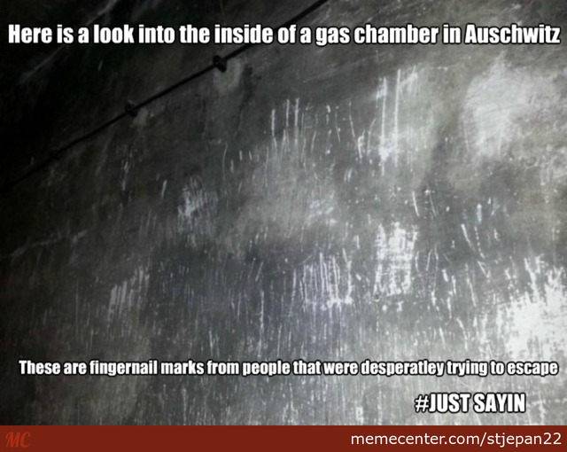Inside Of A Gas Chamber In Auschwitz Just Sayin By