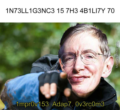Intelligence At Its Numbers