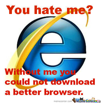 Internet Explorer Fights