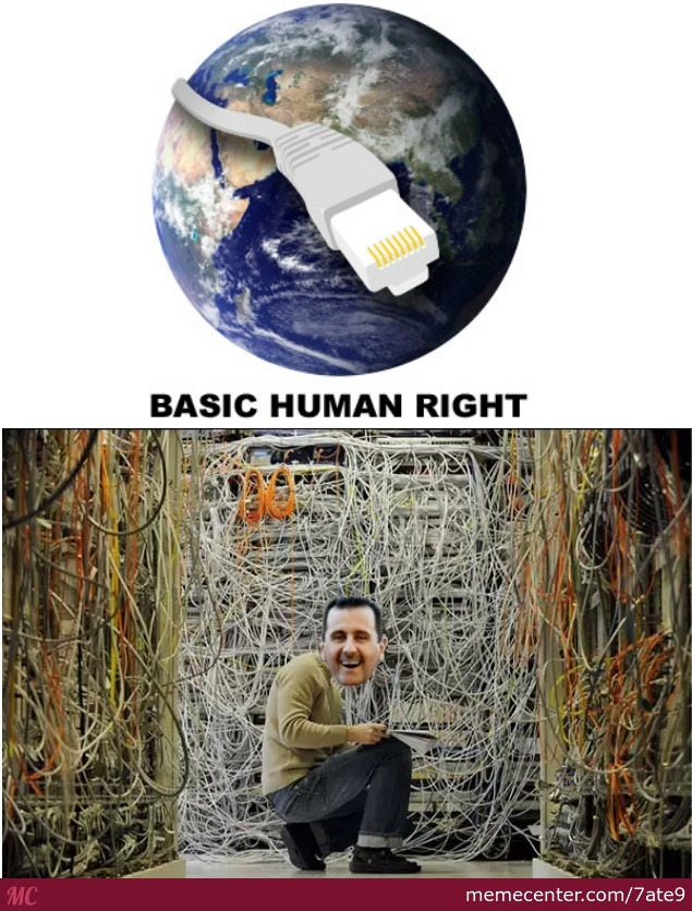Internet Is Basic Human Right
